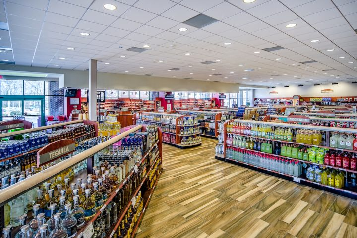 With continued popularity of brands such as Tito's vodka and Fireball whisky and skyrocketing success from RTDs, control states (University Blvd., Mecklenburg County, North Carolina ABC store pictured) outpaced non-control states in spirits growth for the fourth straight year in 2019, with volume growing to over 55 million cases.