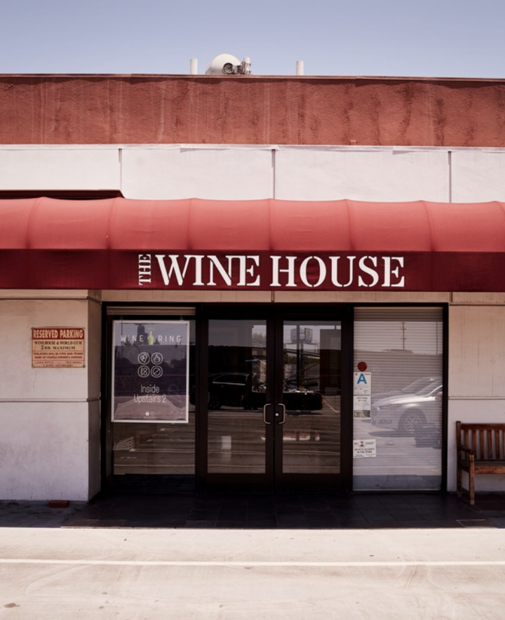 Los Angeles' The Wine House (exterior pictured) is one of the countless beverage alcohol retailers across the U.S. that's been affected by the Covid-19 pandemic.