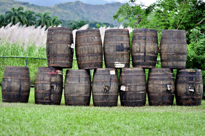 Santa Teresa 1796 (barrels pictured) is positioned to lead the premiumization of the rum category, following in the footsteps of luxury whiskies and recruiting new drinkers with its rich, dry profile.