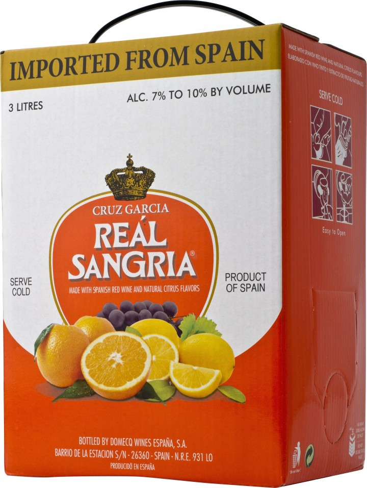 Category leader Reál sangria held steady at 550,000 nine-liter cases in 2013.