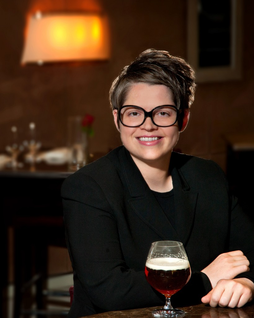 Sarah Johnson, the director of food and beverage at Mandalay Bay in Las Vegas, is a certified Cicerone and encourages the venue's servers to become certified beer experts.