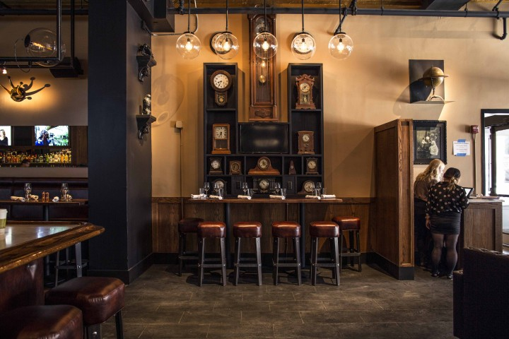 Bartlett Hall embraces the history of San Francisco and highlights a seasonally driven food menu, barrel-aged cocktails and other craft specialties.