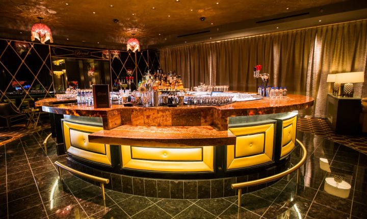 Bound by Salvatore serves specialty drinks at The Cromwell, a new hotel in Las Vegas.