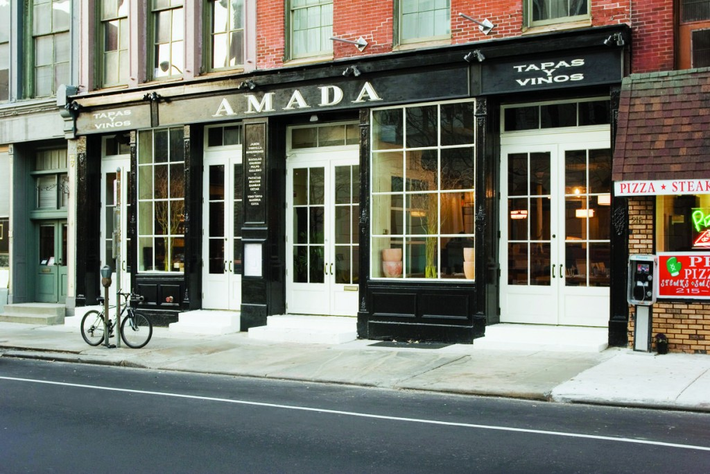 Garces' flagship restaurant, Amada, has served traditional tapas alongside more modern options for nearly 10 years.