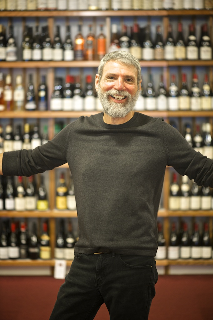 Owner Bob Scherb was a therapist before pursuing his dream of opening a wine store.