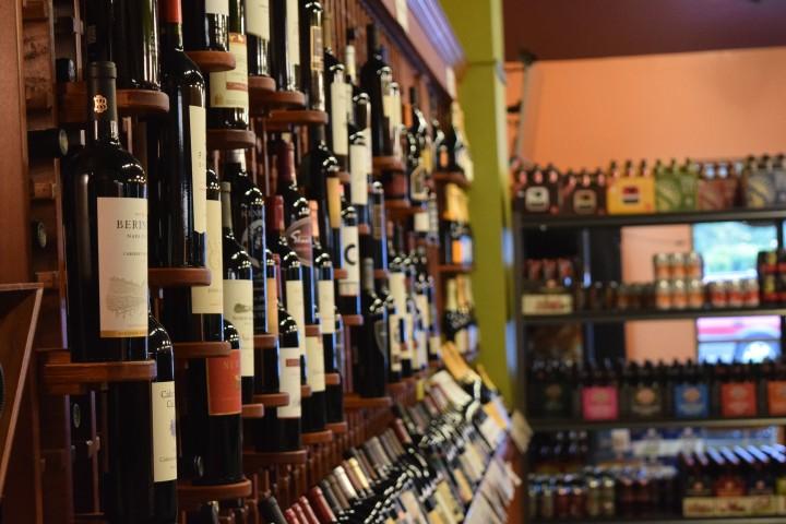 Divine Wine & Beer stocks wines made in North Carolina.