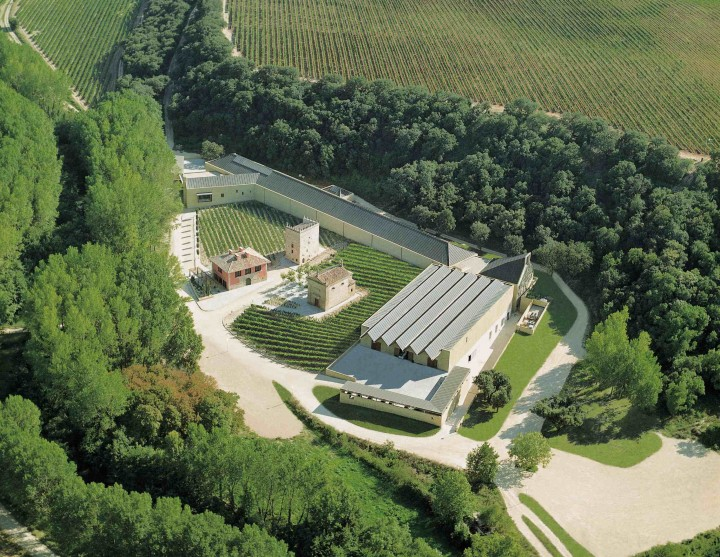Navarra, Spain's J. Chivite Family Estates (winery pictured) has benefited from U.S. consumers' taste for pairing Spanish food and wine.