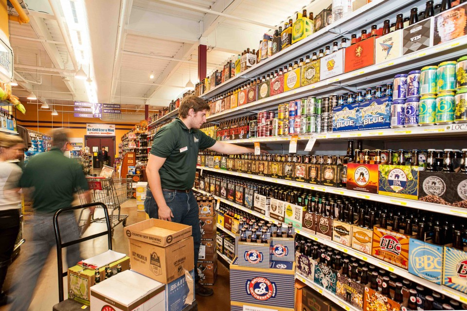 Beer offerings across the company vary by market, with SKUs numbering in the thousands.