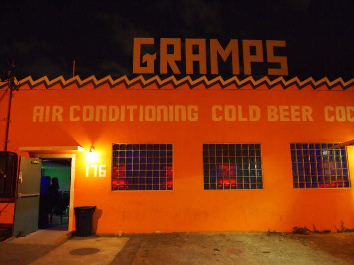 Gramps bar in Wynwood eschews the speakeasy trend by offering well-made cocktails and craft beer in a laid-back environment.
