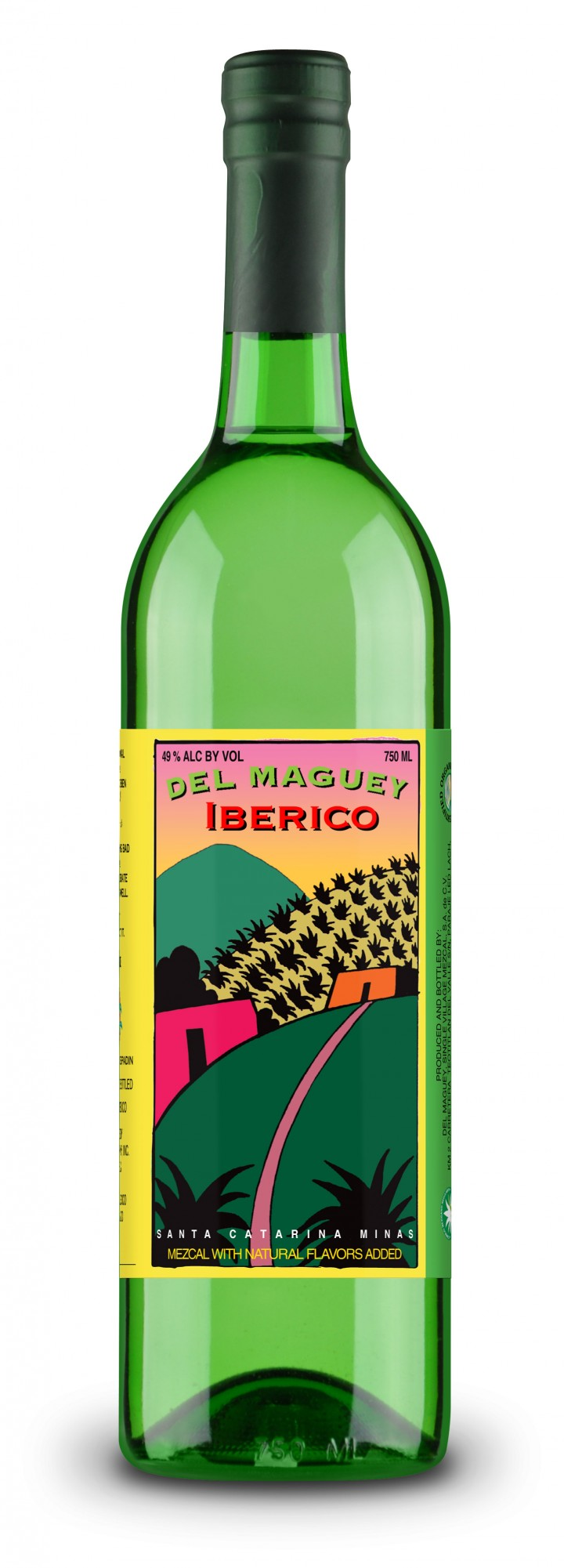 Made with Jamon Ibérico, Del Maguey Ibérico mezcal was created in partnership with José Andrés' ThinkFoodGroup.