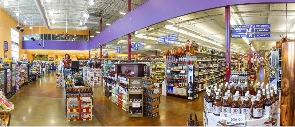 Liquor Stores N.A. (Lexington, Kentucky, Liquor Barn pictured) is improving the in-store experience and customer service.