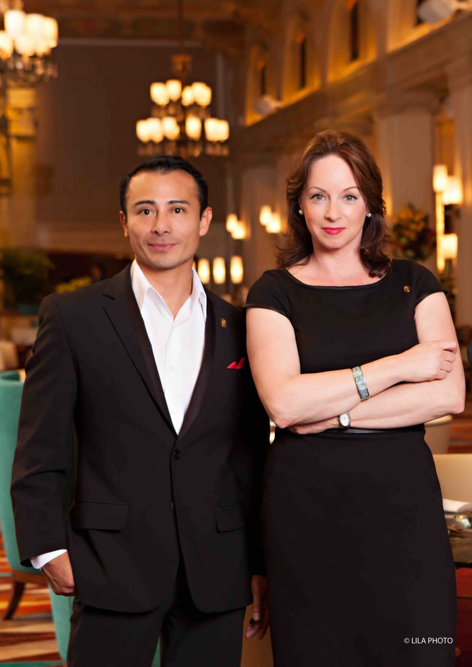Master Sommeliers Juan Gomez and Virginia Philip select the wines for eight venues at The Breakers resort in Florida.