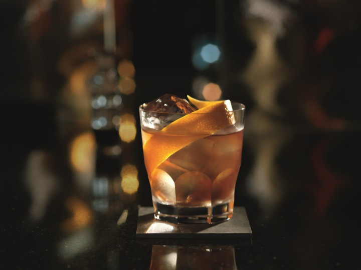 Darker aged rums often replace whisk(e)y in classic cocktails like the Bacardi Rum Old Fashioned, made with Bacardi 8-year-old, sugar, Angostura bitters and orange zest.