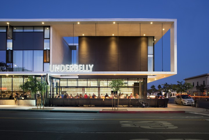 UnderBelly, which has two locations, highlights Japanese ramen and craft beer.