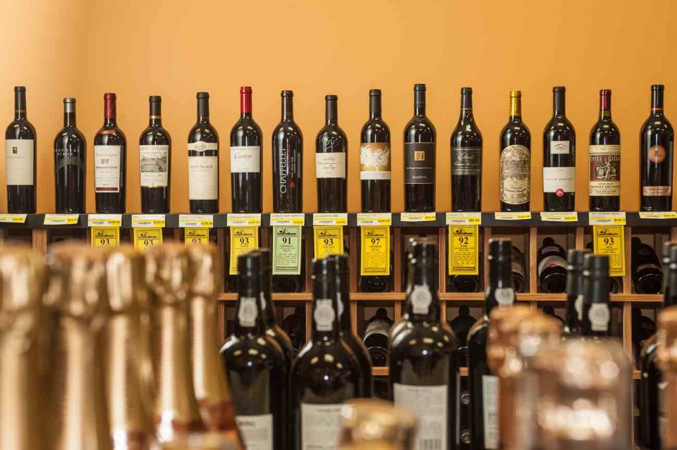 Liquor Stores N.A.'s wine offerings hit every price point, with convenience locations targeting sub-$50 labels.