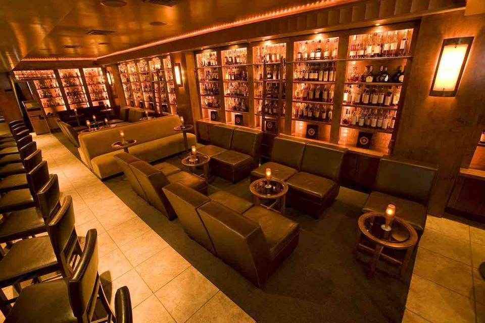 At Manhattan's Brandy Library, guests can choose from a 140-label Cognac list.