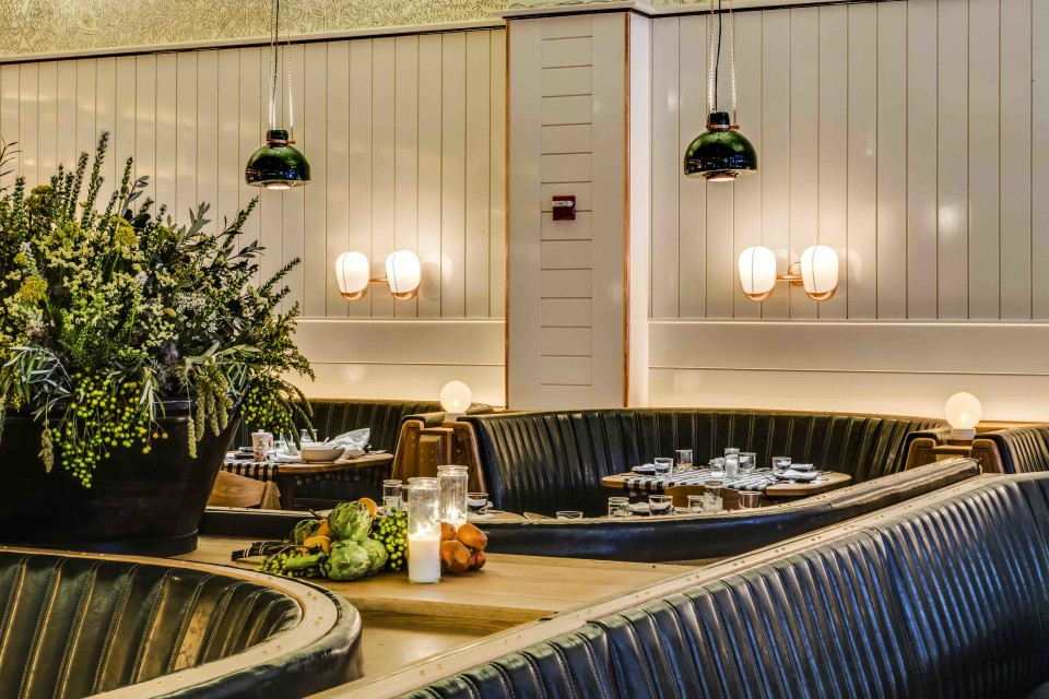 Upland in New York City offers a vast wine list to pair with its California-inspired cuisine.