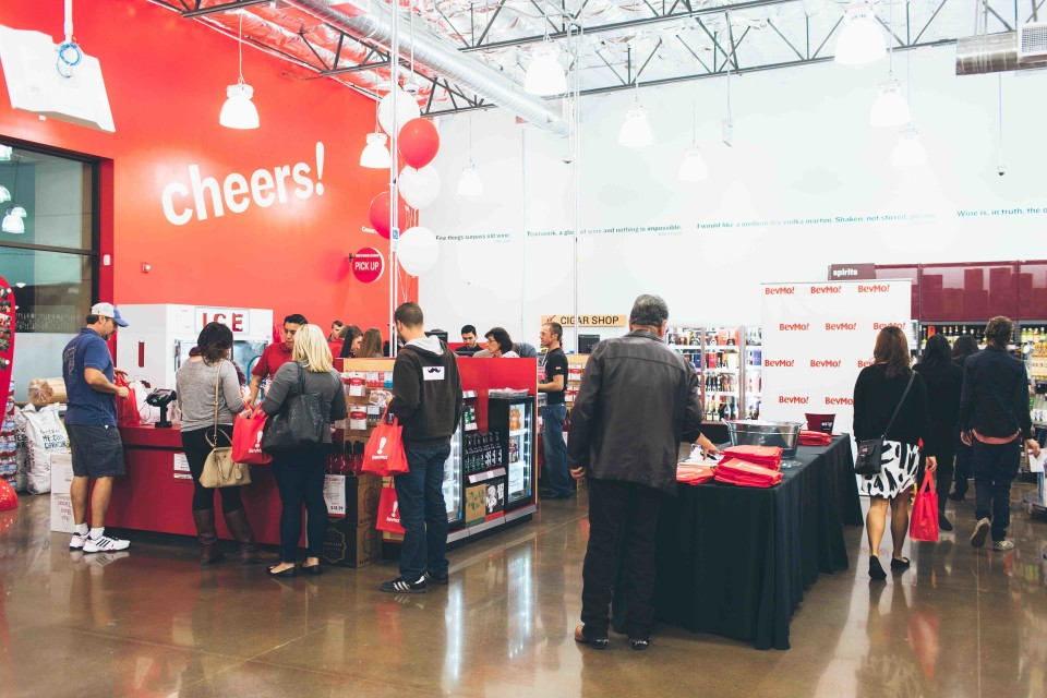 BevMo's 156th store, located in Bakersfield, California, offers thousands of choices in beer, wine and spirits at all price points. With frequent tastings available for a nominal fee, customers are able to try new products before purchasing them.