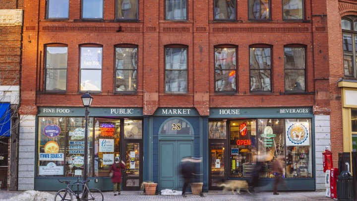 Maine Beer & Beverage Co. and other retail outlets have embraced the city's changing needs with expanded offerings.