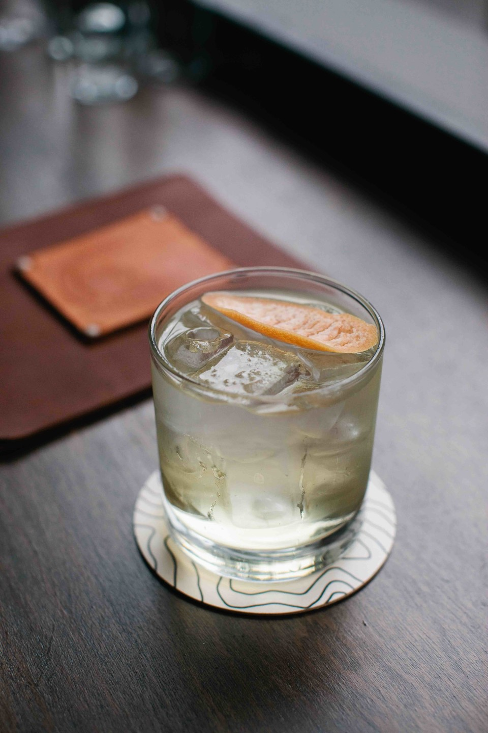 Portland Hunt & Alpine Club serves approachable craft cocktails highlighting local spirits like the White Noise.