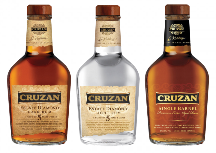 Beam Suntory's Cruzan brand includes the premium Distiller's Collection range.