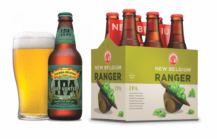 With so many styles of IPA available, beer experts and less-experienced consumers alike can find an entry into the segment. Sierra Nevada Brewing Co. produces at least six IPAs, such as Hop Hunter, and New Belgium Brewing Co. has three offerings, including Ranger IPA.