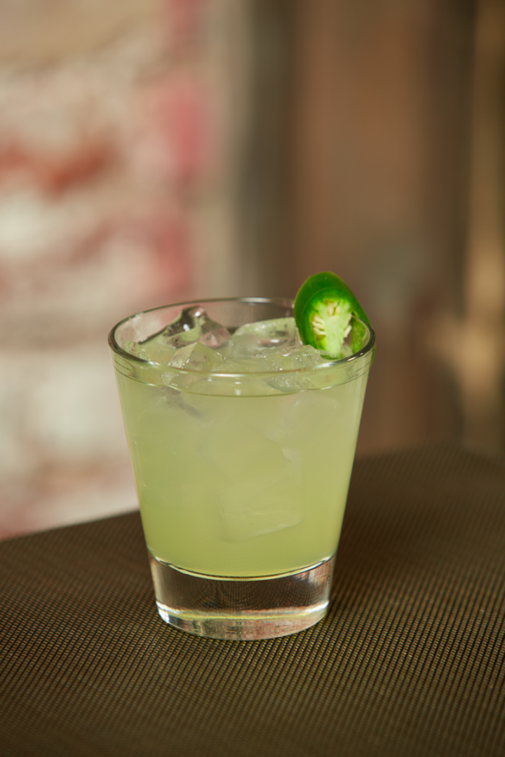 Spicy Tequila cocktails like the Muy Caliente use hot peppers to showcase the spirit's agave flavor.