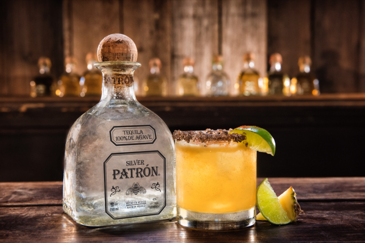 The Patrón Smoked Sea Salt Margarita reinvents a traditional drink.