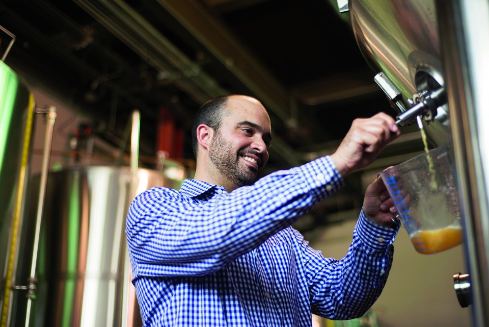 New producers like Moody Tongue Brewery (cofounder Jared Rouben pictured) have contributed to Chicago's reputation for cutting-edge craft beer production.