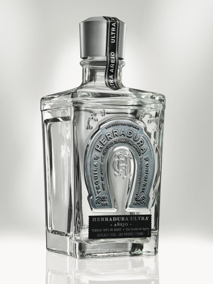 Herradura Ultra is a filtered Extra Añejo Tequila.