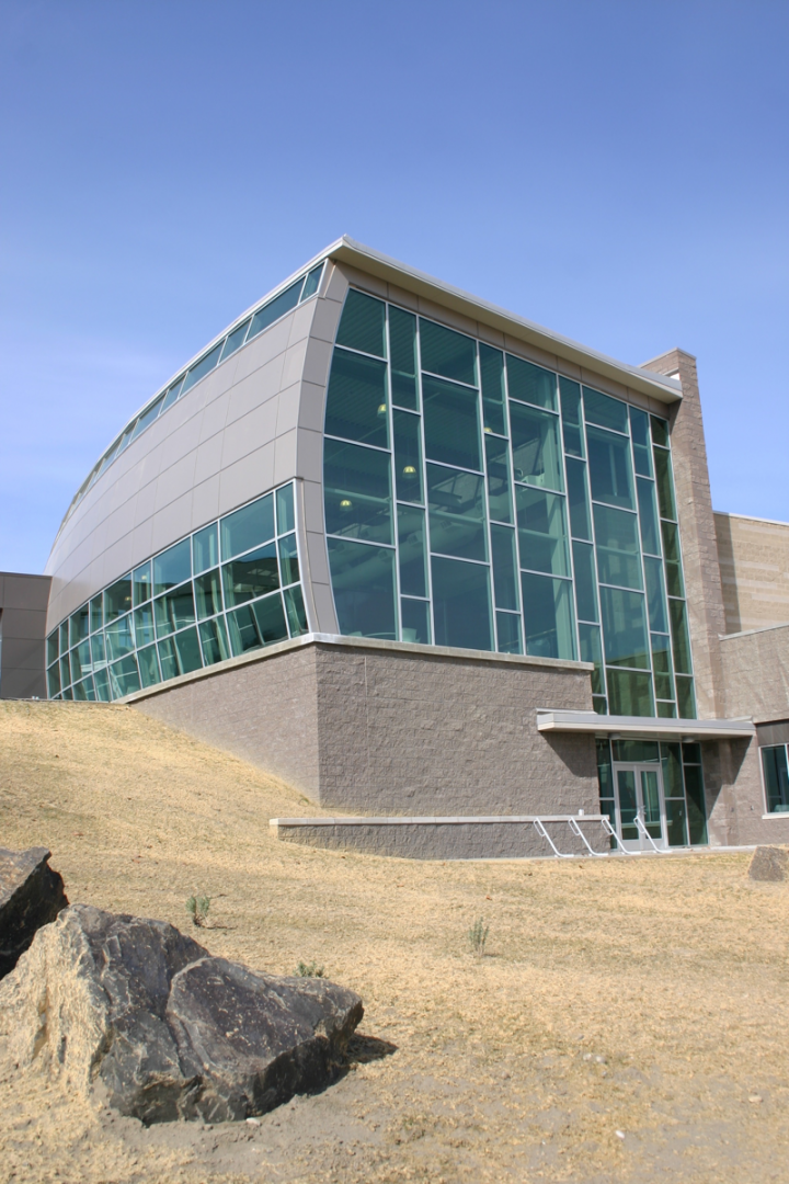The state has invested in its wine industry with facilities like the Wine Science Center (above) at Washington State University.