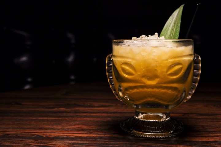 Tiki is a natural fit in the summer, perfect for cocktails like the Pieces of Eight, which features Cruzan Aged Dark rum, house-made passion fruit syrup, fresh lime juice and fresh pineapple.