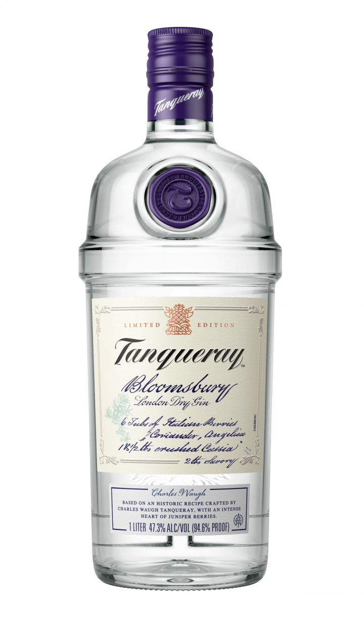 Tanqueray Bloomsbury gin will launch in July.