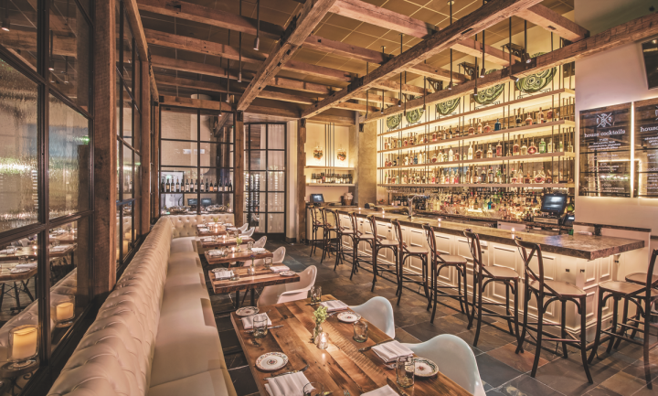 The Guild House offers a deep wine list and artisanal cocktails.