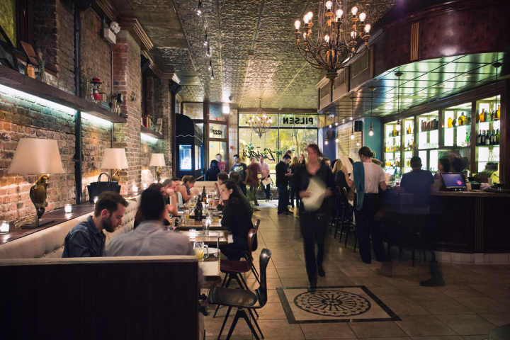 Dusek's restaurant in Chicago (below) is seeing strong demand for Belgian brews. Consumers there are curious about the centuries-old traditions behind the brews.