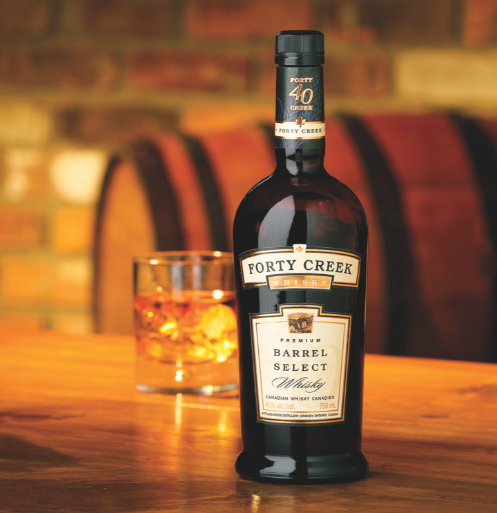 Forty Creek has revitalized the Canadian whisky category by producing complex, flavorful expressions. Its flagship, Barrel Select, is now available nationwide.