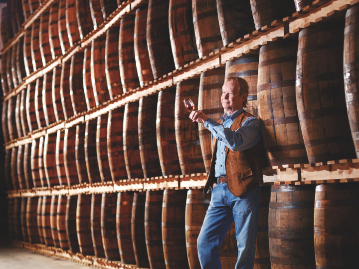 John Hall founded Forty Creek in 1992 in Grimsby, Ontario, and still serves as whiskymaker and chairman.