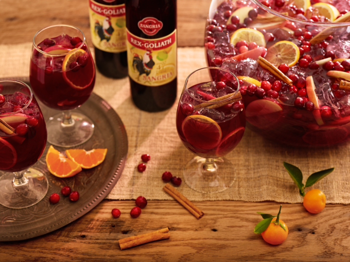 Brands like Rex Goliath are promoting sangria as a year-round option.