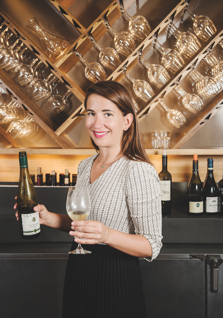 Sommelier Laura Maniec cofounded CorkBuzz in New York City in 2011 as a place for people to learn about wine.