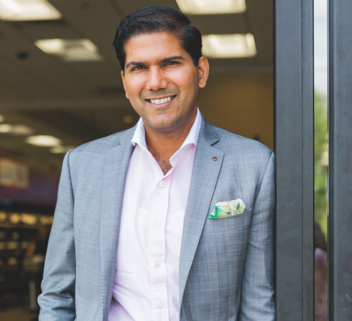 Saurabh Abrol serves as president and CEO of Wine Chateau, which his father, Arun, founded in 1994. The retail chain's units are located in Metuchen, Piscataway, Colonia and Matawan, New Jersey.