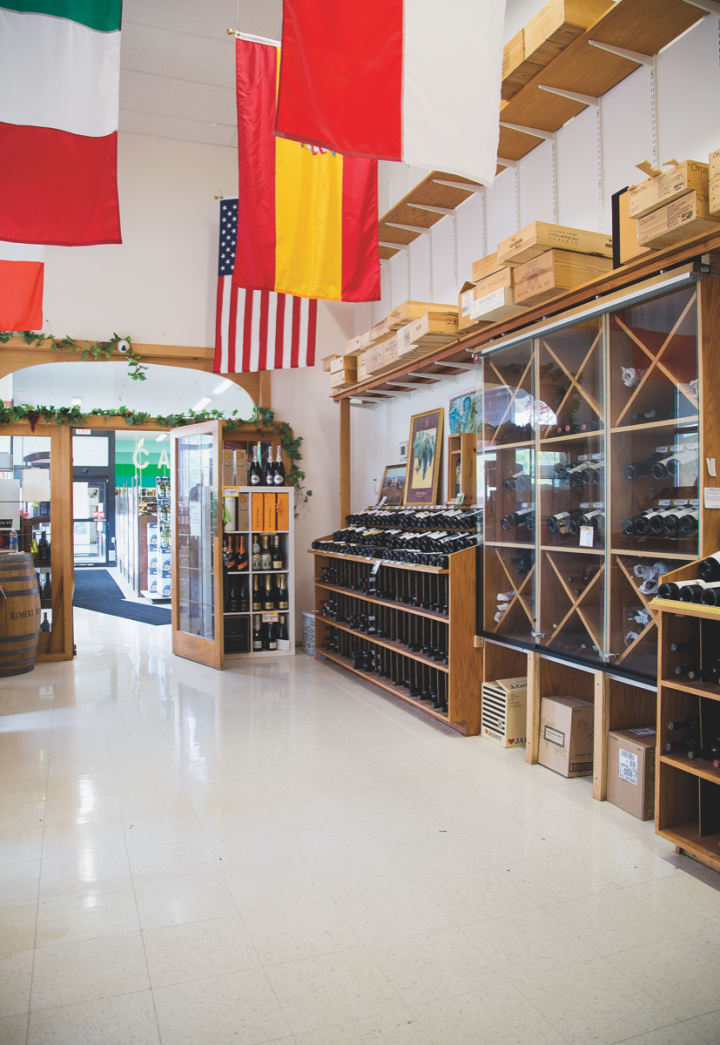 CT Beverage Mart's 15,000-square-foot Middletown location has a dedicated fine wine room, featuring a wide selection of international and domestic wines. The stores offer regular free tastings of wine, beer and spirits.