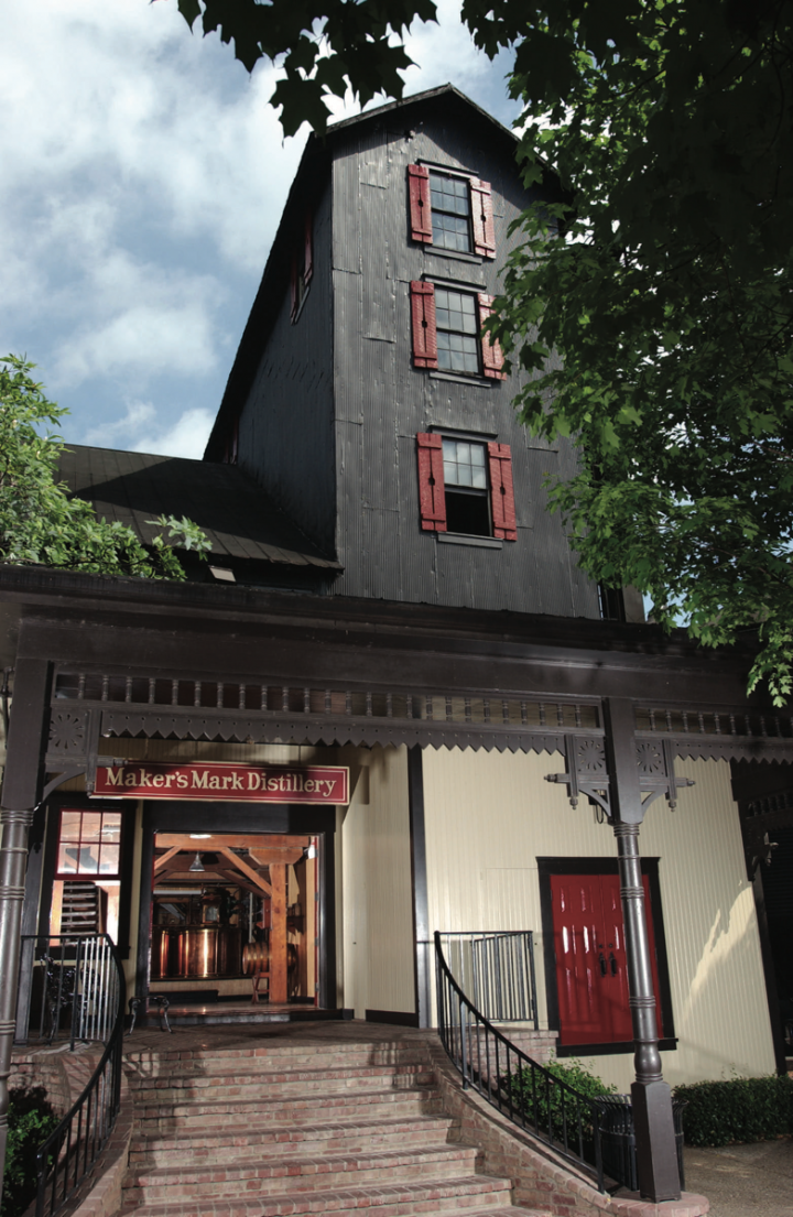 Maker's Mark benefits from the Kentucky Bourbon Trail.