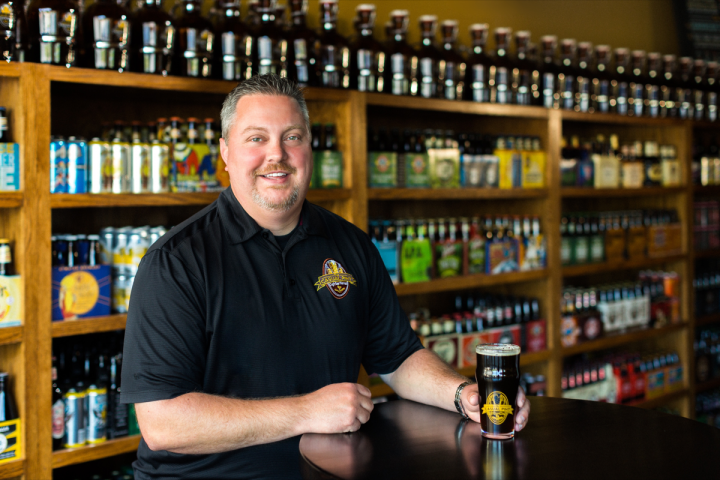 Nathan Robinette began franchising The Casual Pint last year and has already added eight locations, with more expansion planned for the near future.