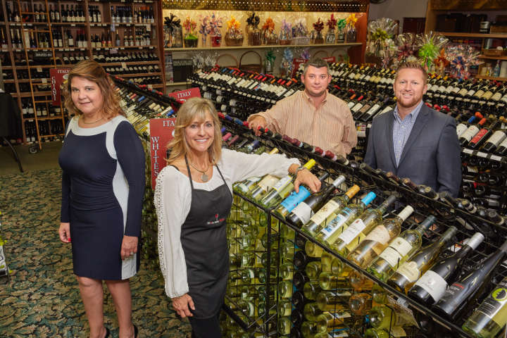 Litton and her staff hold casual wine tastings weekly, as well as formal ticketed events to showcase upscale wines.