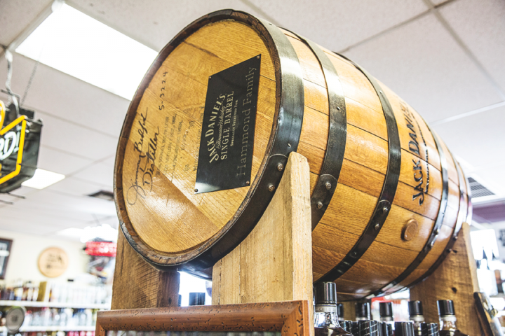 Buster's has a robust single-barrel program for whiskies, regularly stocking over a dozen offerings hand-selected by the store.