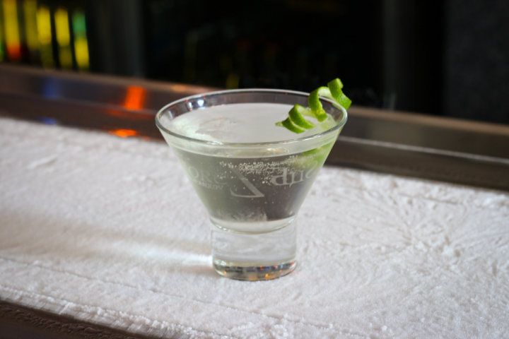 Sub Zero Vodka Bar's Zentini includes cucumber vodka, elderflower liqueur and cranberry juice.