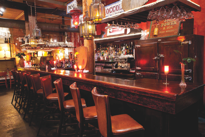 Bohemian venues like Cav, which opened in 1989, have brought more modern dining to Providence.