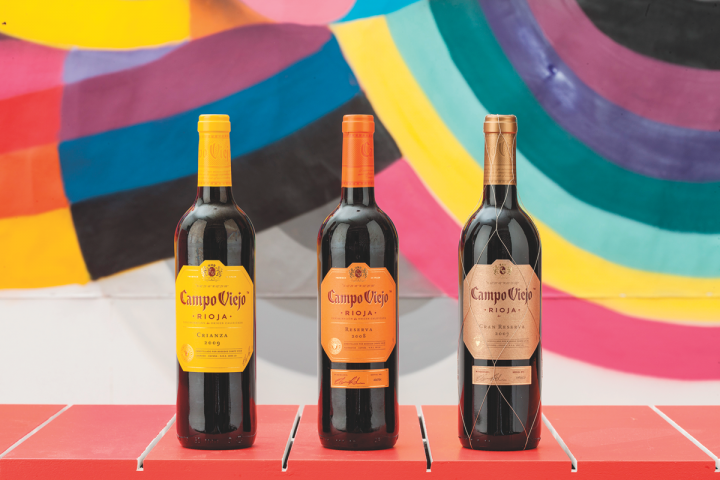 Pernod Ricard USA's Campo Viejo brand offers several Rioja wines, from a 100-percent Tempranillo to a Rioja Gran Reserva. Positioned as an entry point to Spanish wine, the label has recently expanded to include Cava, sparkling rosé and Garnacha offerings.