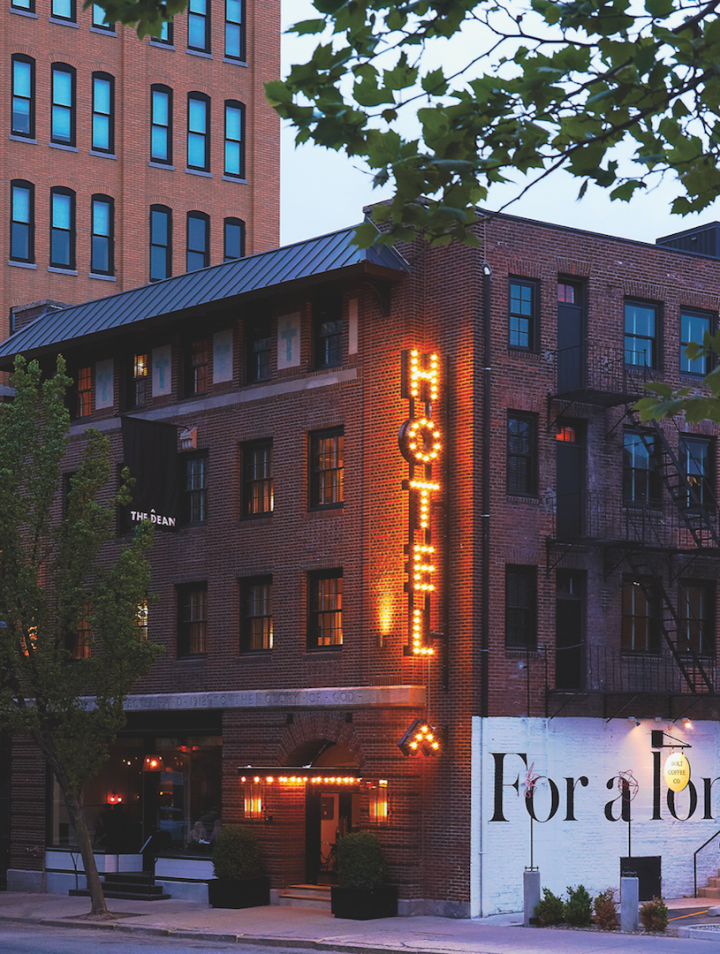 Once a city with limited options, Providence now boasts upscale venues like The Dean hotel, which has a karaoke lounge and a craft cocktail den.