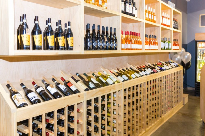 At Brooklyn, New York's Grain & Vine, staff aim to educate consumers about wine and spirits. The store offers tastings and on-demand delivery throughout New York City.